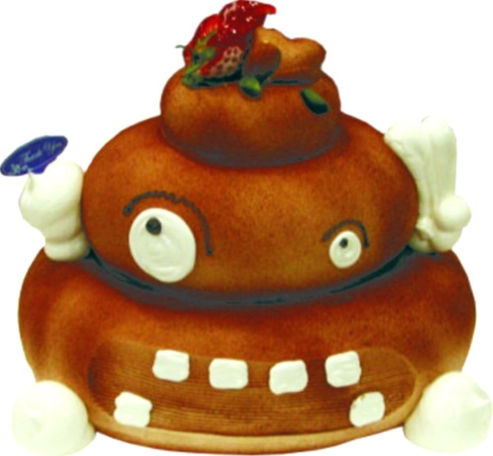 優仕紳便便造型蛋糕