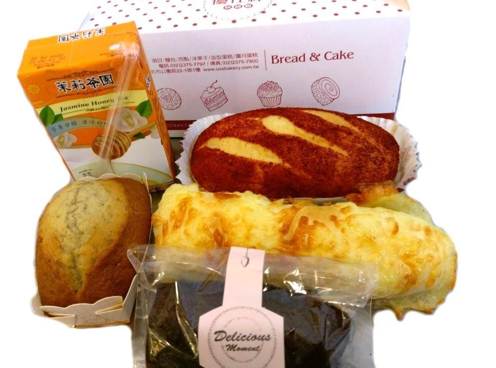 優仕紳041餐盒(麵包餐盒)