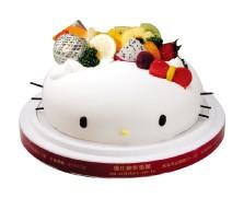 優仕紳-KITTY蛋糕 8吋生日蛋糕(單一商品,不可與其他商品-起宅配)