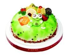 優仕紳-大眼蛙 8寸生日蛋糕(單一宅配,不可與其他商品-起宅配)