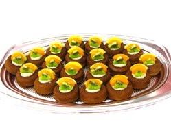 優仕紳蜂巢水果蛋糕(宴會茶點)20個1盤