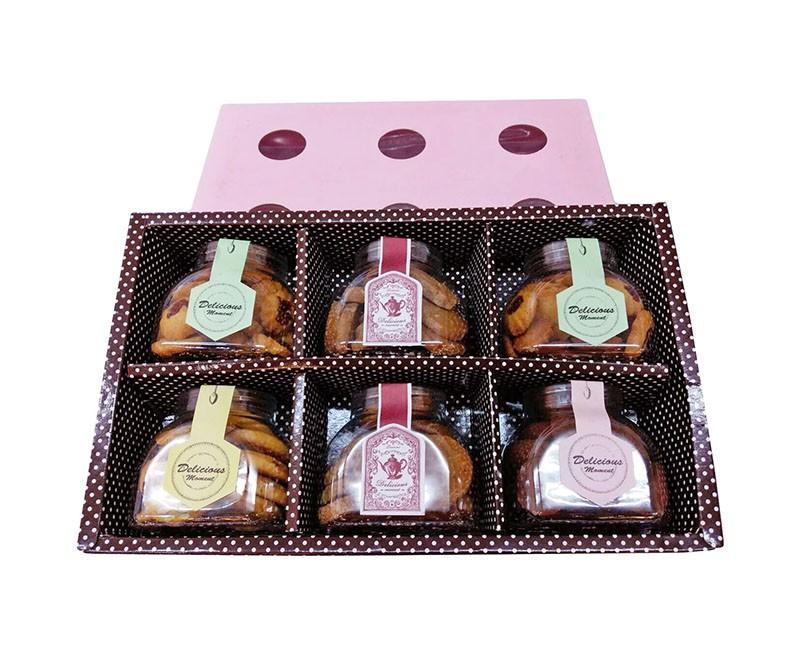 優仕紳伴手禮禮盒-手工餅乾禮盒(6入)