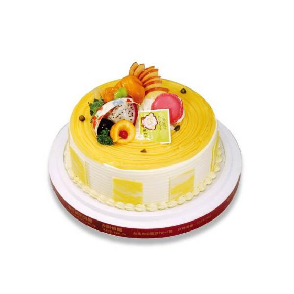 優仕紳-日式栗子8吋生日蛋糕(單一宅配,不可與其他商品-起宅配)