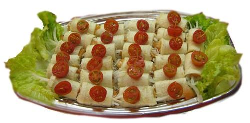 優仕紳煙燻鮭魚捲(宴會茶點)30個1盤