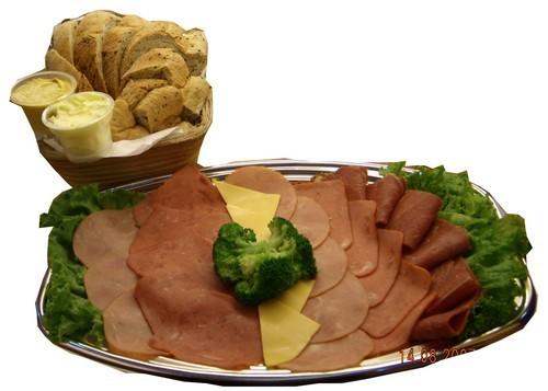 優仕紳什錦火腿拼盤&養生雜糧麵包(宴會茶點)600元1盤