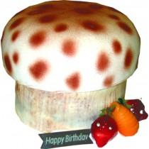 優仕紳蘑菇造型蛋糕