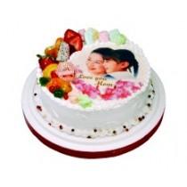 相片蛋糕8吋生日(單-宅配、不可與其他商品宅配)