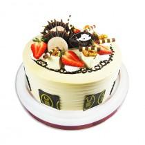 優仕紳-摩卡爵士8吋生日蛋糕(單-宅配,不可與其他商品-起宅配)