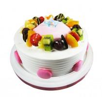 優仕紳-白色物語8吋生日蛋糕(單-宅配,不可與其他商品-起宅配)