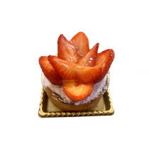 優仕紳草莓塔切片蛋糕